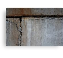 Concrete Blocks Canvas Print