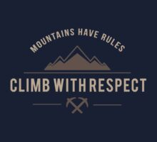 Rock Climbing Kids Clothes