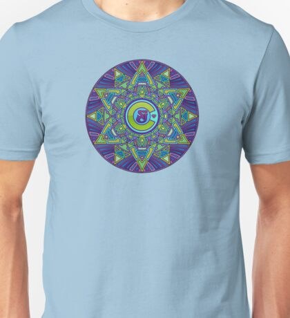 String Cheese Incident Sacred Mandala Colorado Love 2 Unisex T-Shirt