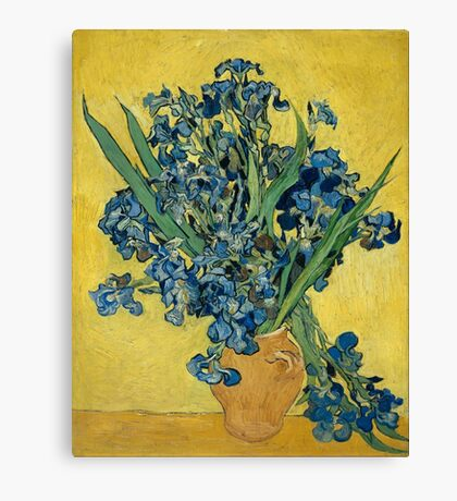 Vincent Van Gogh - Irises 1889 Canvas Print