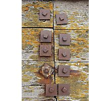 Ten Bolts Photographic Print