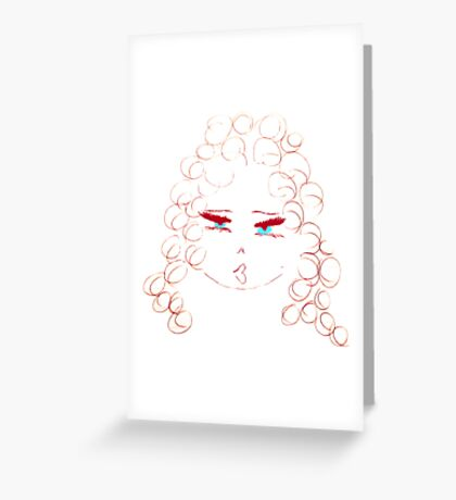 Queeny Greeting Card