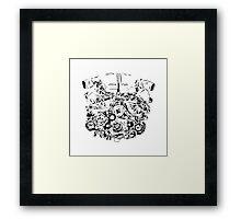 Machineheart Framed Print