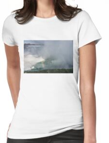 Milky Mist and Double Rainbows -  Womens Fitted T-Shirt