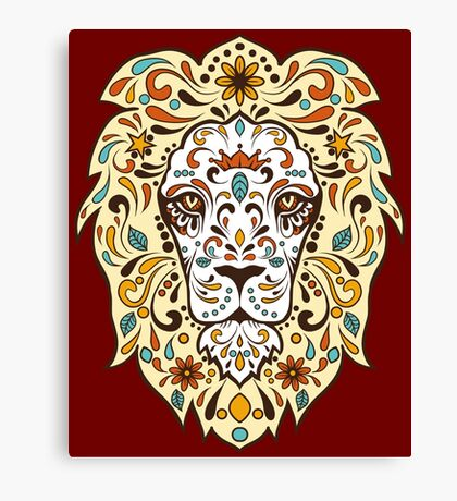 LEO THE LION Canvas Print