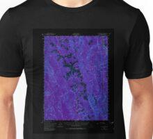 USGS TOPO Map California CA Coyote Peak 297222 1952 62500 geo Inverted Unisex T-Shirt