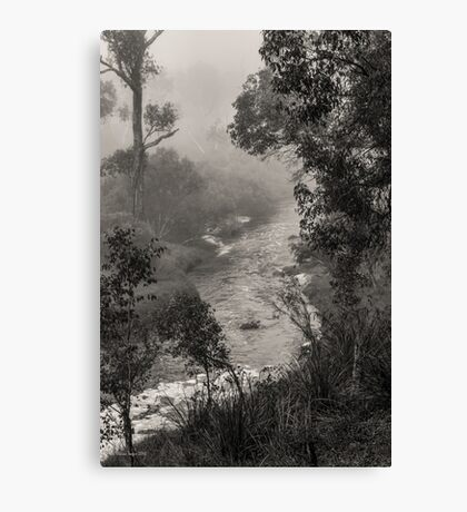Mist on the Blackwood, Bridgetown, Western Australia Canvas Print