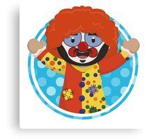 Impractical Jokers - Smush the Clown Canvas Print