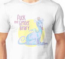 fuck the gender binary Unisex T-Shirt