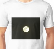 Full moon at night Unisex T-Shirt