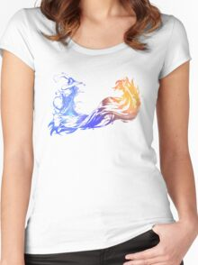 Final Fantasy X - galaxy~ Women's Fitted Scoop T-Shirt