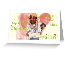 Charles Barkley Can't be this Kawaii Greeting Card
