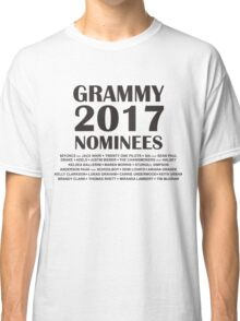 Grammy Nominees 2017 Classic T-Shirt