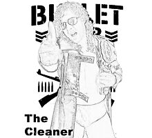 """The Cleaner"" Kenny Omega  Photographic Print"
