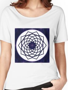 Pure Bliss Abstract Chakra Art Women's Relaxed Fit T-Shirt