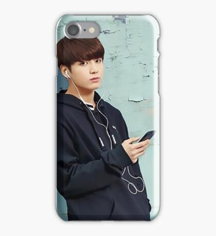 BTS Jungkook P iPhone Case/Skin