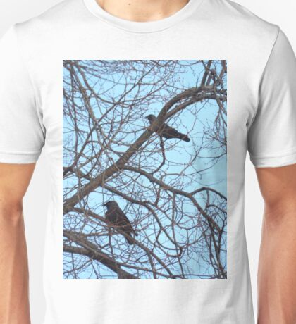 Pair of jackdaws Unisex T-Shirt