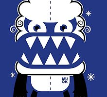 Monster by MUCK. Crypto Zoo. Yeti by Muck959