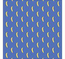 Sweet bananas on blue Photographic Print