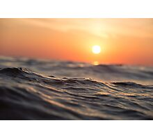 Sea and Sun Photographic Print