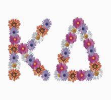 kappa delta flowers  by natatat
