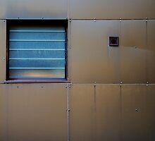 Slatted Window by Adam Wain