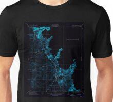 USGS TOPO Map California CA Owens Creek 296386 1918 31680 geo Inverted Unisex T-Shirt