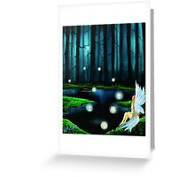 peace in perfect places: Spring fairies Greeting Card