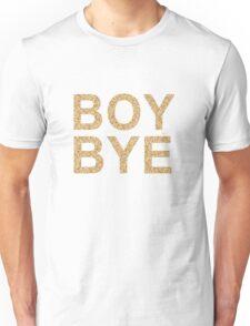 Boy Bye Gold Glitter | Beyonce Unisex T-Shirt