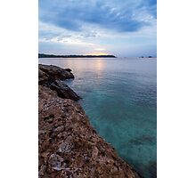 Blue Sea Photographic Print
