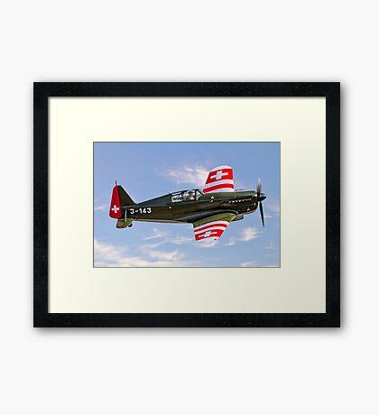 EFW/Dornier D-3801 J-143 HB-RCF Framed Print