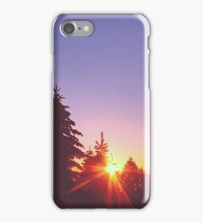 Hidding Sun iPhone Case/Skin