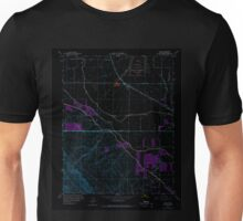 USGS TOPO Map California CA Volta 301176 1960 24000 geo Inverted Unisex T-Shirt