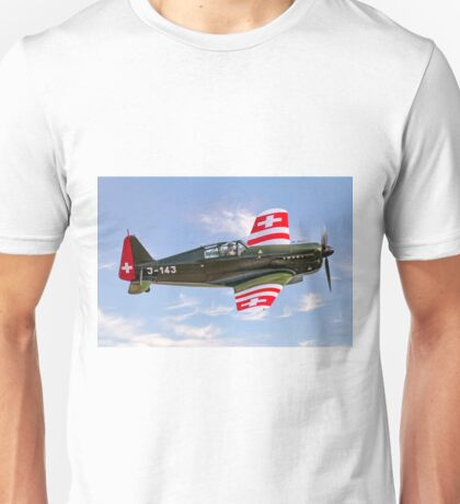 EFW/Dornier D-3801 J-143 HB-RCF Unisex T-Shirt