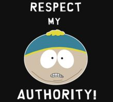 Cartman - Respect my authority T-Shirt
