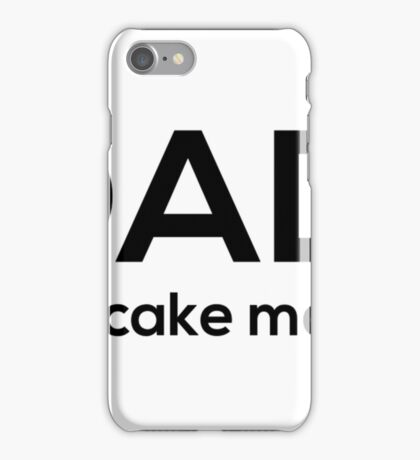 Dad: Pancake Maker Funny T Shirts For Dad iPhone Case/Skin