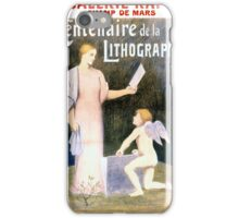 French Vintage Exhibit Poster Restored iPhone Case/Skin