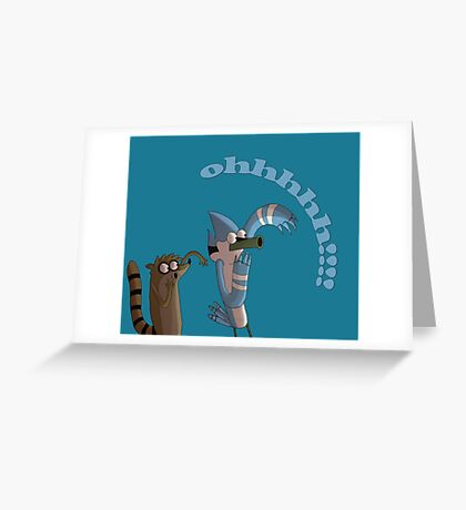 ohhhh friends Greeting Card