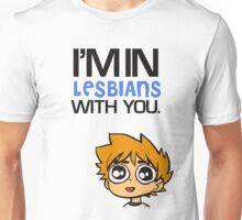 Scott Pilgrim Loves You Unisex T-Shirt