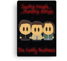 Supernatural - Family Business Canvas Print