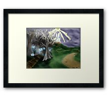 Different Means to the Same End Framed Print