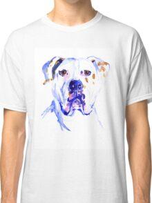 Watercolor American Bulldog  Classic T-Shirt