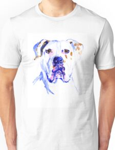 Watercolor American Bulldog  Unisex T-Shirt