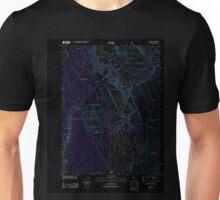 USGS TOPO Map California CA Cassel 20120404 TM geo Inverted Unisex T-Shirt