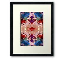 Drenched In Awareness Abstract Healing Artwork  Framed Print