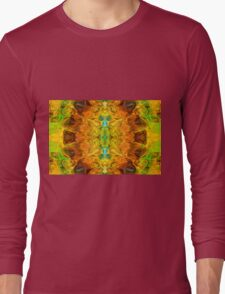 Energy Experiences Abstract Healing Artwork  Long Sleeve T-Shirt