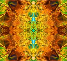Energy Experiences Abstract Healing Artwork  by owfotografik