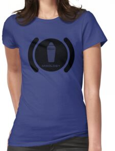 Bartender Mixology Lounge Logo Vector Womens Fitted T-Shirt