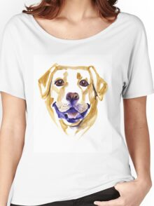 Watercolor Labrador Retriever Women's Relaxed Fit T-Shirt