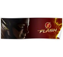The Flash Red Banner Poster